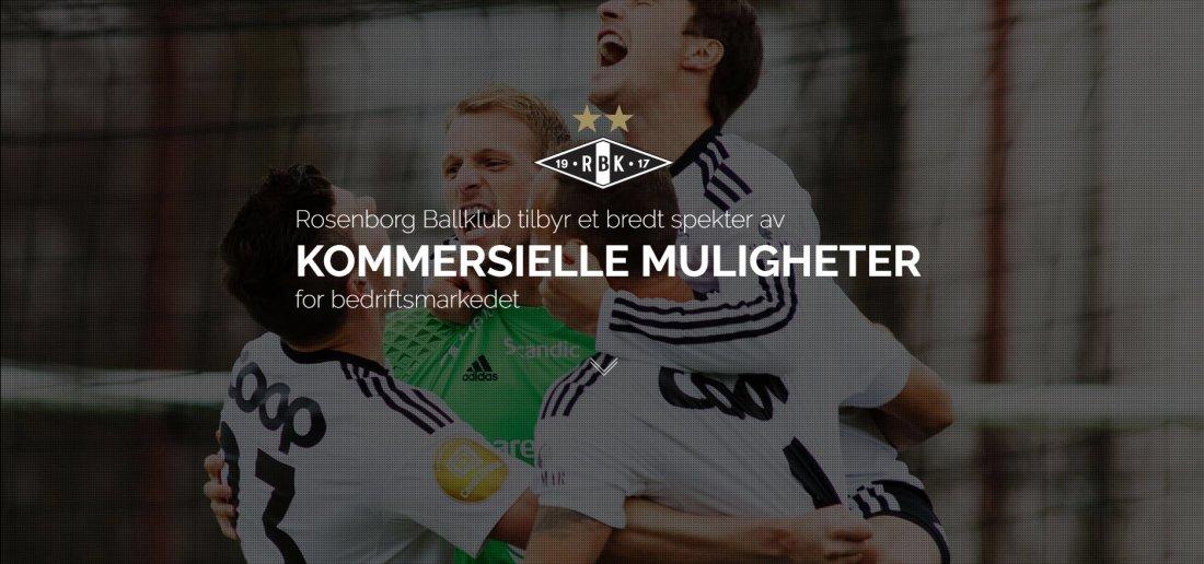 Rosenborg Ballklub tilbyr et bredt spekter av kommersielle muligheter