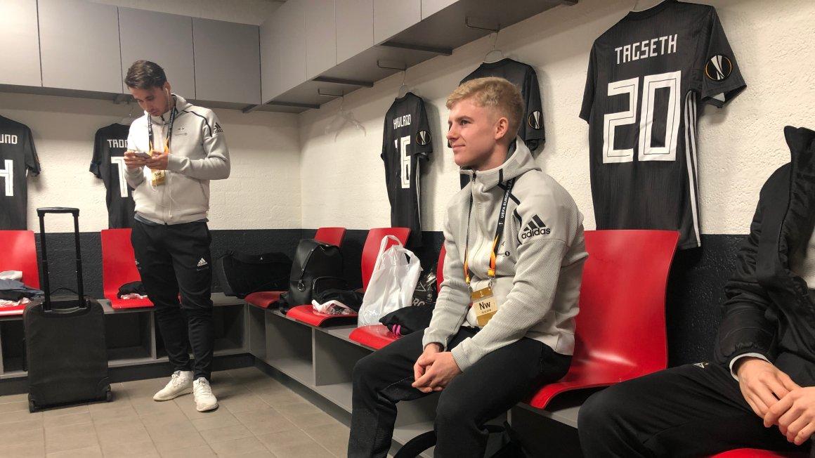 Tagseth starter mot PSV