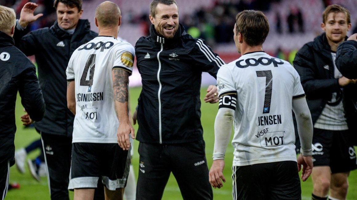 Deilig seier i Bergen!