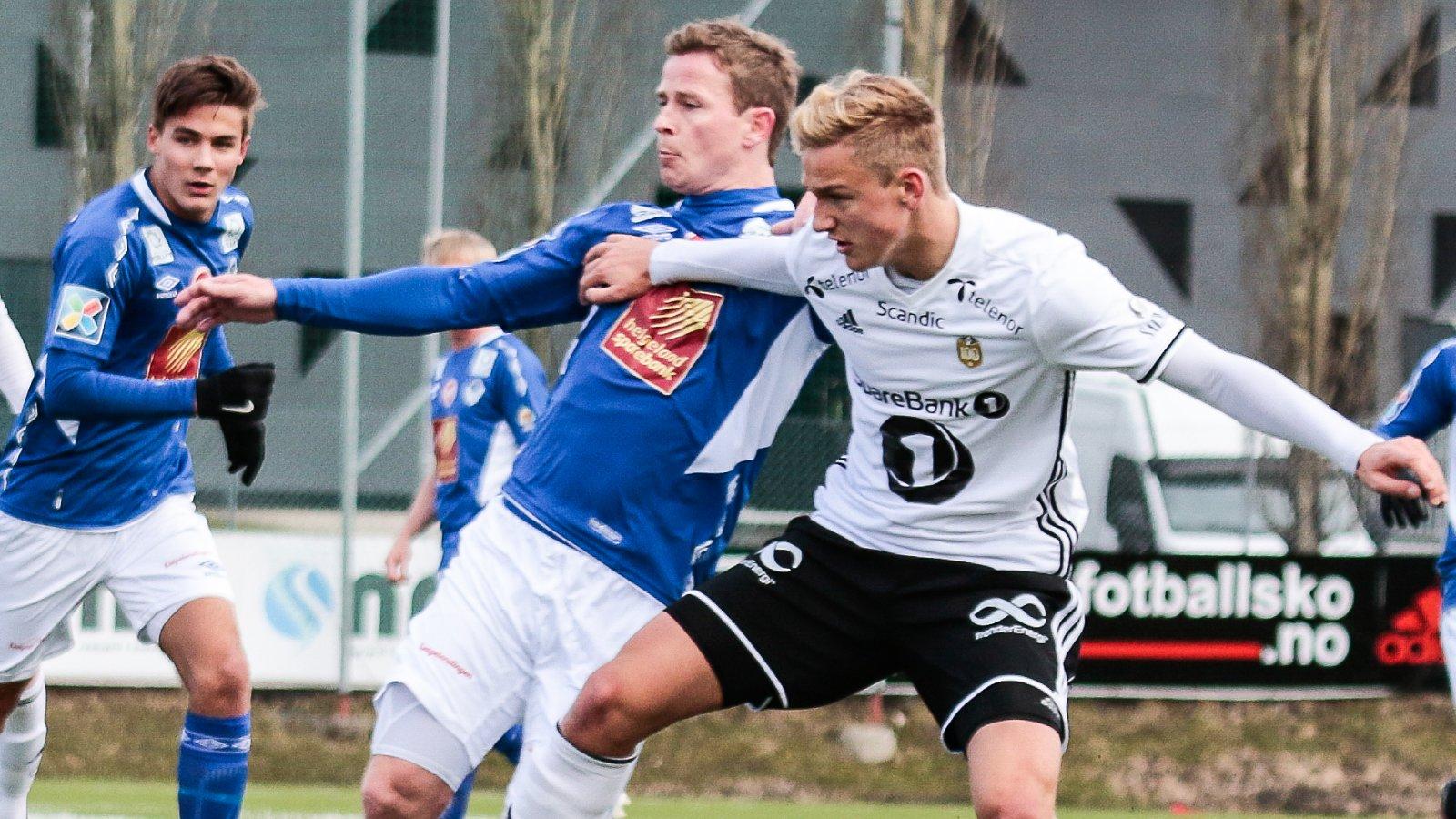 Erik Botheim for RBK2 mot Mosjøen