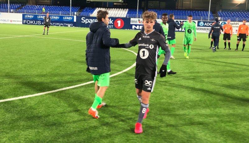 Carlo Holse skaffet straffespark, men Rosenborg klarte aldri å hente inn KBKs ledelse.
