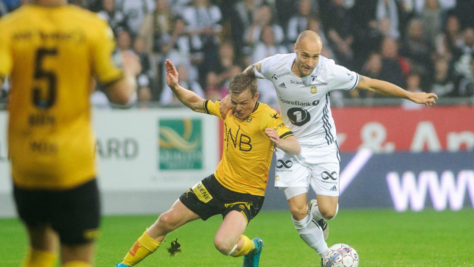 Laget mot Lillestrøm / Rosenborg
