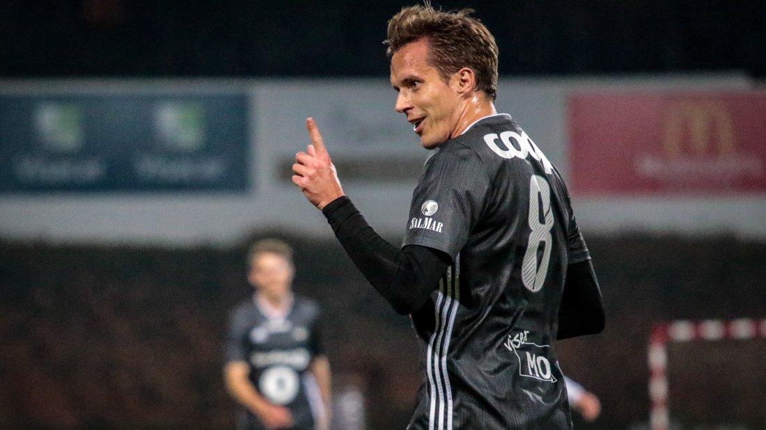 Konradsen med årets første scoring for Rosenborg.