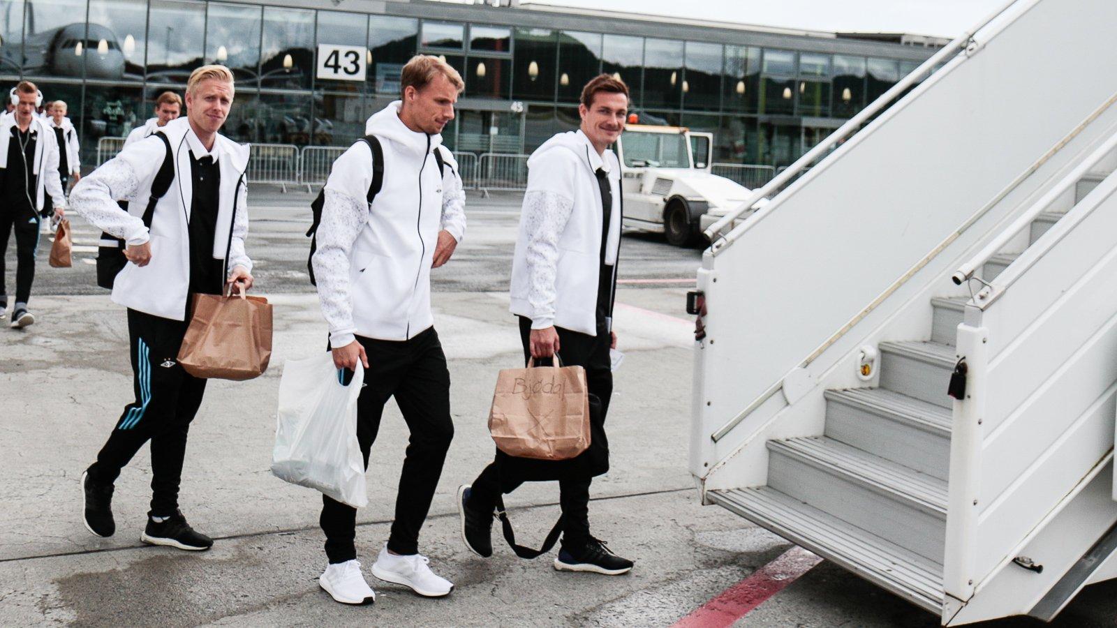 Østbø, Hansen og Bjørdal klar for Europa League.
