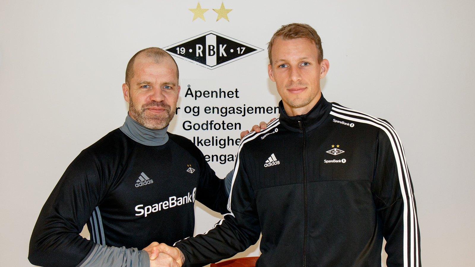 Stig Inge Bjørnebye har skrevet ny kontrakt med André Hansen