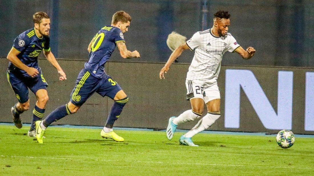 Samuel sendte Dinamo-backen ut på mange løpeturer.