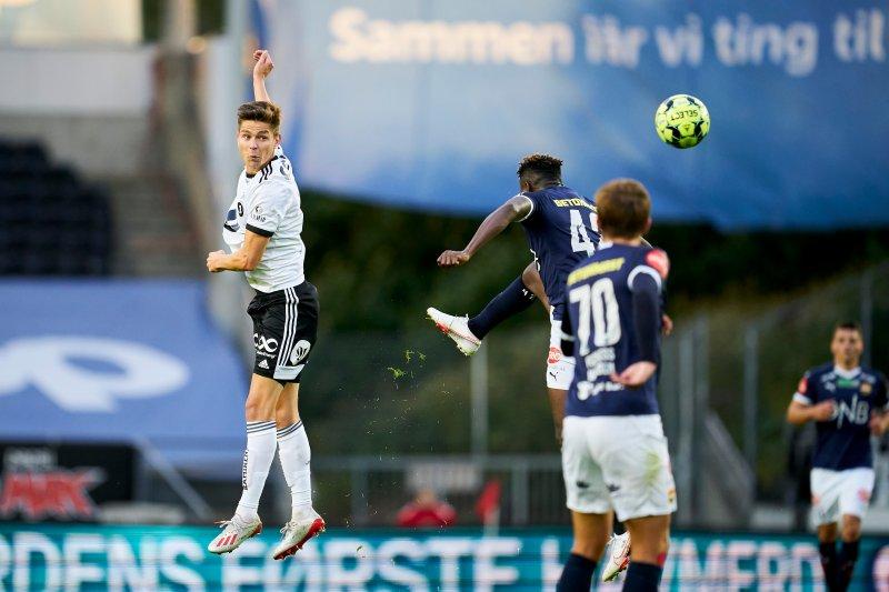 Torgeir Børven scoret sitt første mål for Rosenborg! Foto: Ole Martin Wold / NTB scanpix