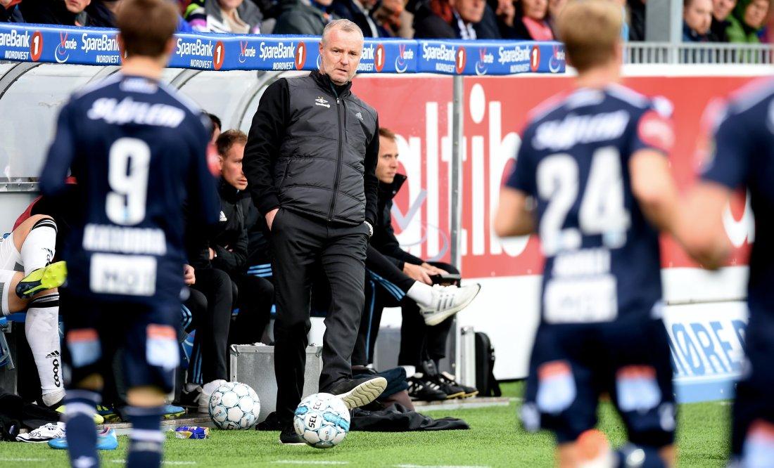 Ny borteseier: Rini Coolen og Rosenborg tok alle poengene med seg hjem fra Nordmøre.