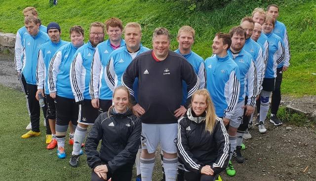 Denne fine gjengen leverte en strålende innsats i Bergen i helga.