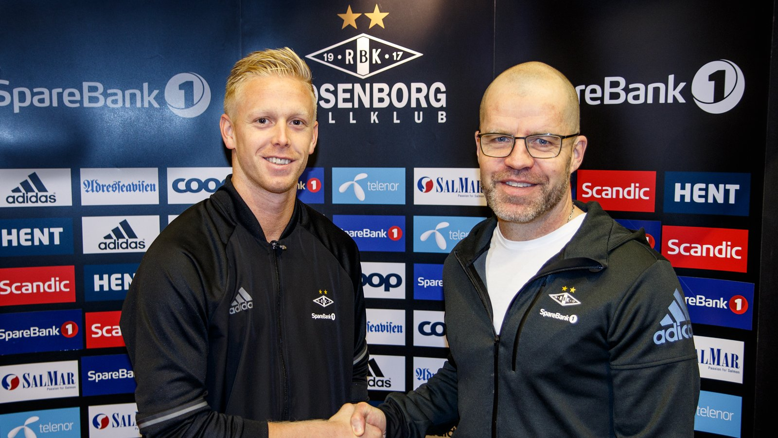 Arild Østbø og Stig Inge Bjørnebye