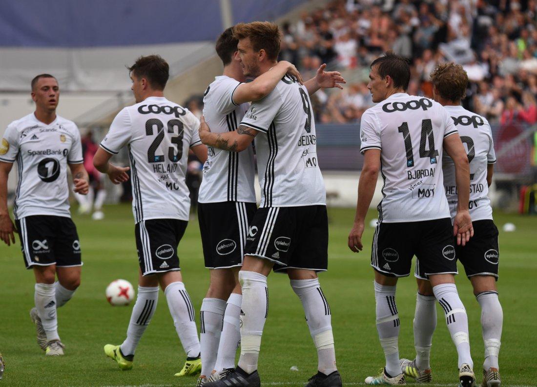 Nicklas Bendtner scoret to og hadde én målgivende mot Kristiansund.