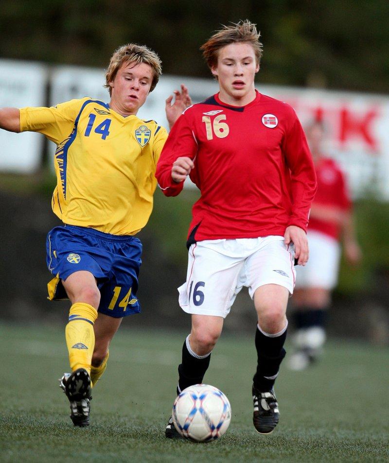 Jonas Svensson her påG15 landslaget i 2008.